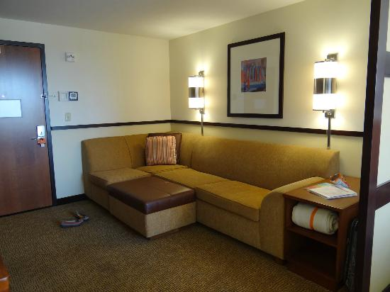 Hyatt Place Phoenix/Mesa: Sitting area.