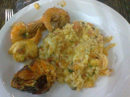 Piquiras: Risoto de Lagosta e Camarão