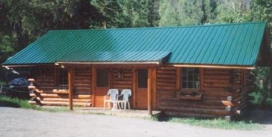 Gwin's Lodge and Restaurant, Historic Roadhouse and cabin rentals: Willow Log Cabin Sleeps 4
