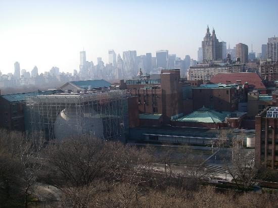 Excelsior Hotel: Room view of Museum of Natural History and Midtown.