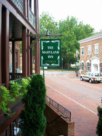 Historic Inns of Annapolis: Main Entrance and Street