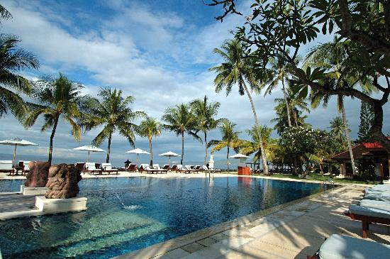 Rama Candidasa Resort & Spa: Swimming Pool Day View