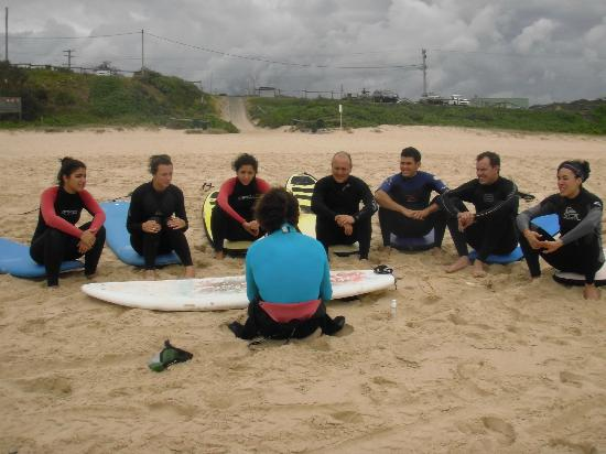 Waves Surf School: Group Instruction and one on one Training