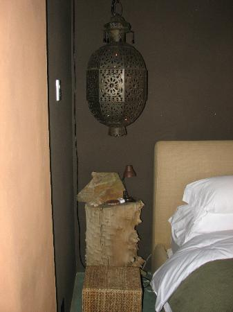 Sacred Sands: Morrocom lamp in bedroom