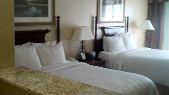 Crowne Plaza  Resort Asheville: Our room with two beds, #234.
