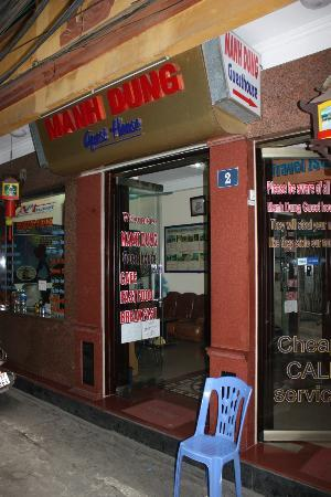 Manh Dung Guest house: Look for the real Manh Dung