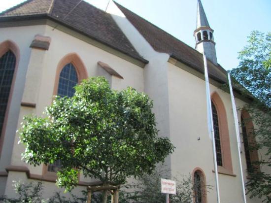 Spitalkirche: its exterior