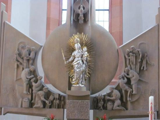 Spitalkirche: a detail