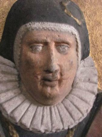 Spitalkirche: detail of a commorotive votiv