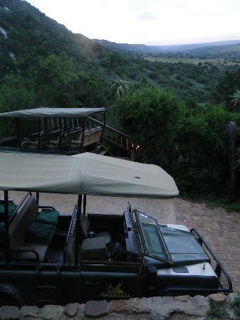 Amakhala Game Reserve: Startpunkt für Pirschfahrten
