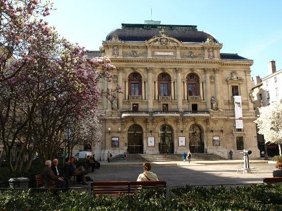 Hotel des Artistes : The Theatre Des Celestins outside the hotel