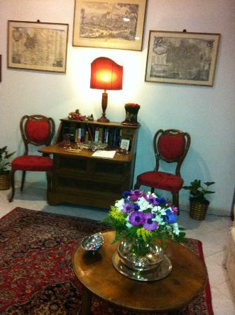 A Casa di Serena a San Pietro: angolo salone