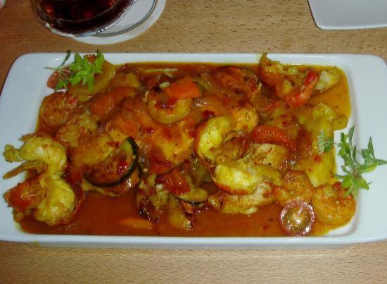 s'Wirtshaus Restaurant: Curry 3 Seafood Platter