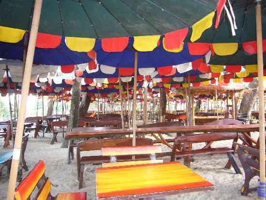 Restaurant at Nai Harn beach