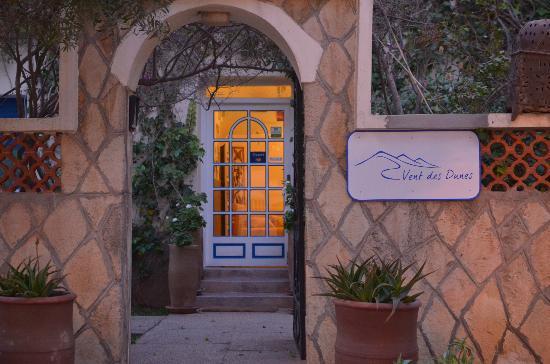Hotel Vent des Dunes: Entrée de l'hôtel