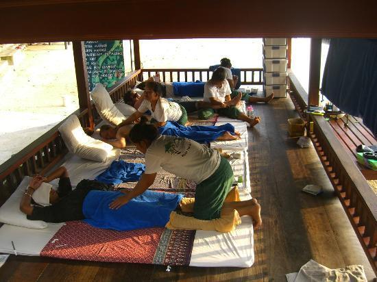 Haad Yao Bayview Resort & Spa: Centro massaggi