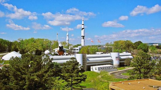 Huntsville Marriott at the Space & Rocket Center: View from room