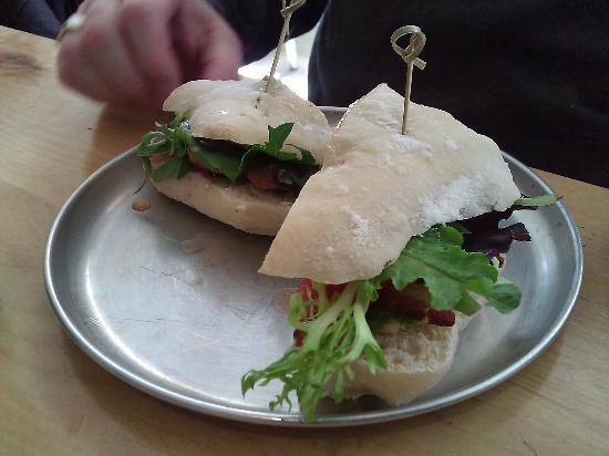 The Butcher & Baker Cafe: Steak sandwich