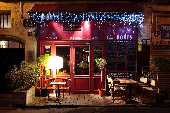 Chez Boris et Leticia : Façade du restaurant à Noel