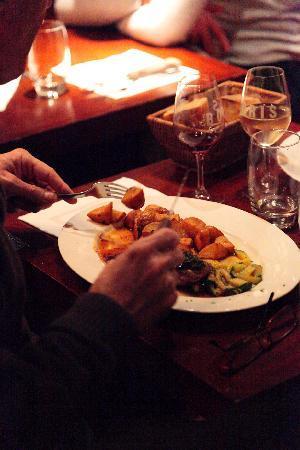 Chez Boris et Leticia : un plat cuisiné par notre chef
