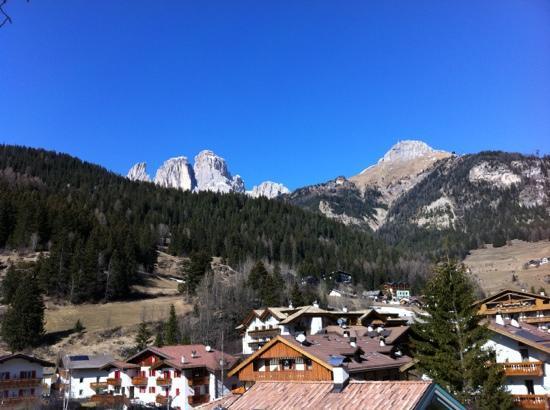 Mazzin, Italy: Vista dalla camera