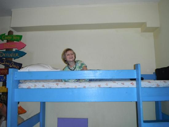 The Pirate Haus Inn: The bunk beds