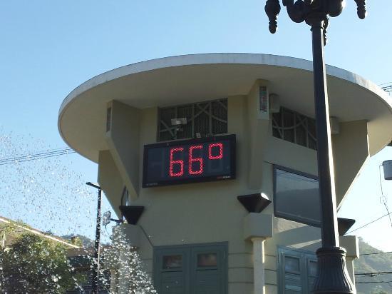 Parador Villas Sotomayor: Temperatura en Adjuntas