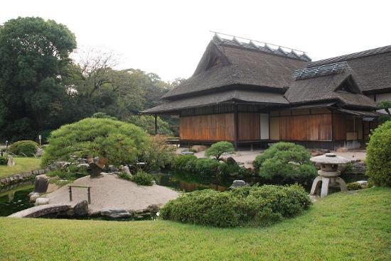 Okayama, Japan: Im Garten