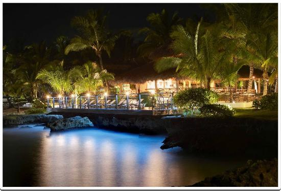 La Palapa by Eden Roc at night