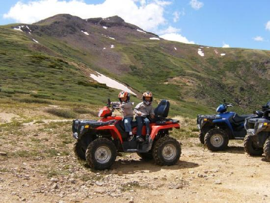 Pleasant View Resort : Ride the trails on one of our ATVs