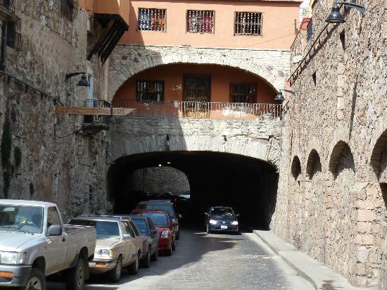 Casa Estrella de la Valenciana: City Tunnel