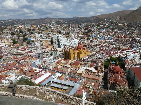 Casa Estrella de la Valenciana: View of Guanajuato