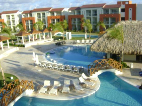Now Larimar Punta Cana: vu de la chambre