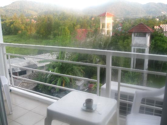 Baan Oui: Вид из окна