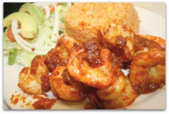 La Michoacana: Camarones a la diabla /hot shrimp