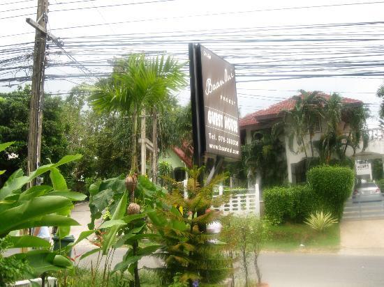 Baan Oui : Вид из отеля