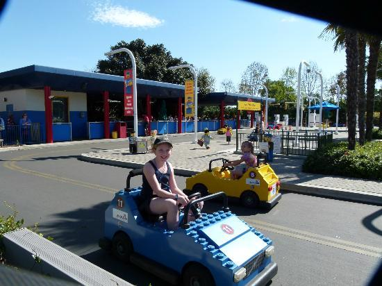 LEGOLAND California: The driving course did appeal to slightly older kids.