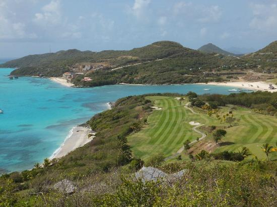Canouan: Golf Course and Beach