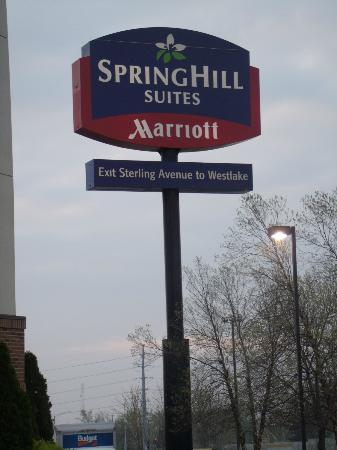 SpringHill Suites Peoria Westlake: Sign outside