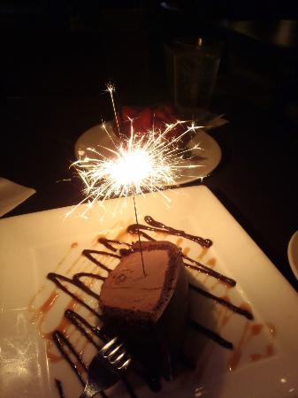 Cafe Eccell : Anniversary dessert
