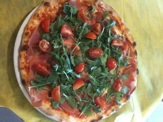 Ristorante Pizzeria Al Platano: pizza golosa