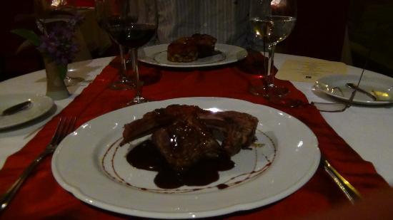 Aldebaran Hotel & Spa: Essen an Weihnachten christmas plate