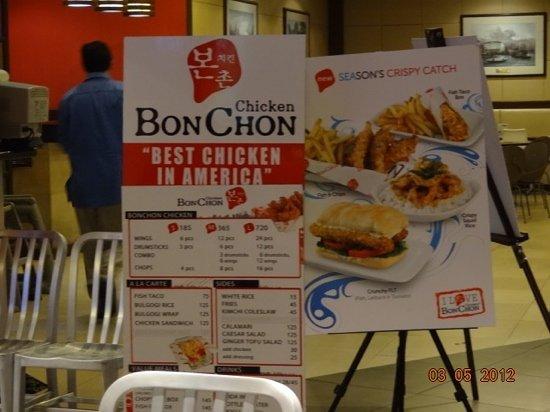 Bon Chon Chicken: best chicken indeed!