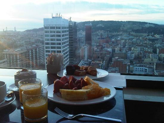 Gran Hotel Torre Catalunya Panoramic Breakfast