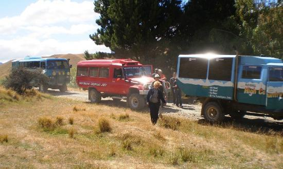 High Country Explorer Tours: 4X4 vehicles