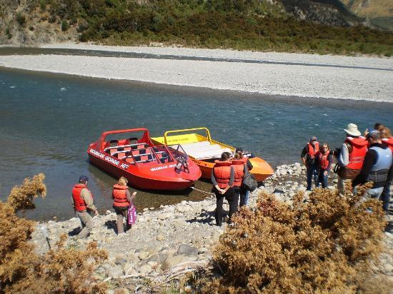 High Country Explorer Tours: jet boats