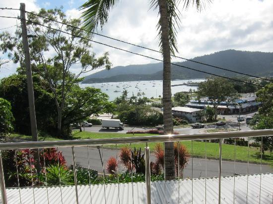Waterview Airlie Beach: View from the balcony.