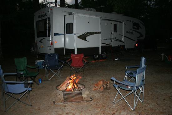 Torreya State Park: campsite