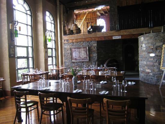 Barossa Valley, أستراليا: Lou Miranda Estate restaurant.