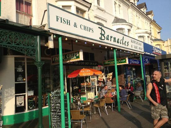 Barnacles Chip Shop: Barnacles exterior view
